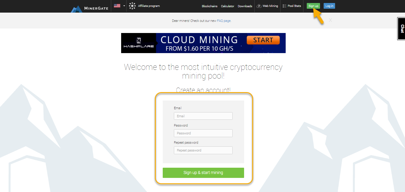 شرح برنامج و موقع minergate