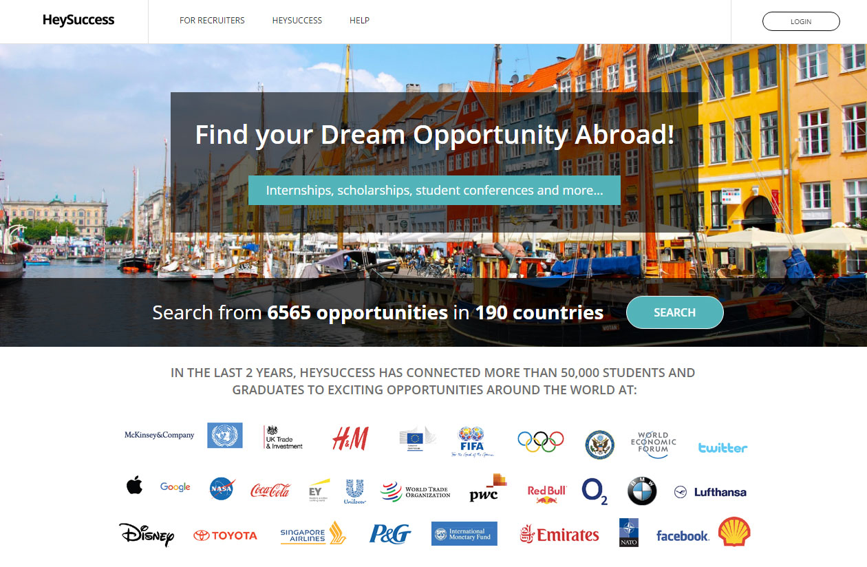 Find your Dream Opportunity Abroad